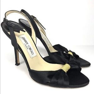 Jimmy Choo Satin Heels Size 39